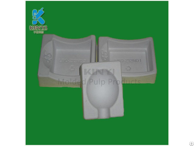 Disposable Recycle Paper Pulp Cosmetic Packaging Tray