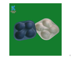 Custom Biodegradable Fruit Paper Trays Hot Sale Eco Friendly Vegetable Tray