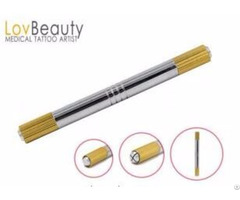 Two Heads Microblading Tools For Eyebrow Embroidery