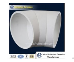 Pressing Alumina Ceramic Bend Pipe Cone For Coal Conveying System