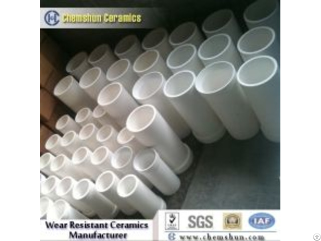 Manufacturer High Temperature Resistant Abrasive Alumina Pipes Tube