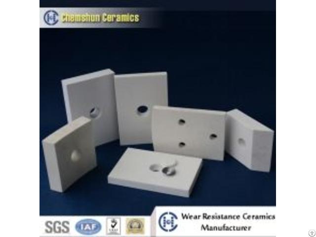 High Alumina Ceramic Wear Tile Liner As Abrasion Resistant Materials