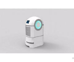 Laser Guidance Service Robot