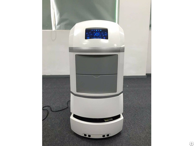 Laser Guidance Service Type Robot