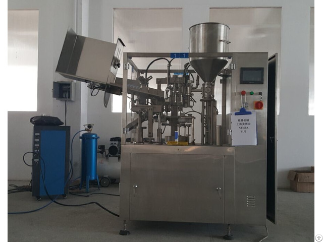 Automatic Tube Filling Machine For Paste