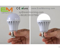 Emergency Rechargeable Led Bulb Light With Ce Certificate