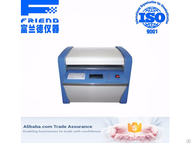 Insulating Oil Dielectric Loss And Resistivity Meter