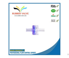 Fda Medical Grade Plastic Non Return Valve