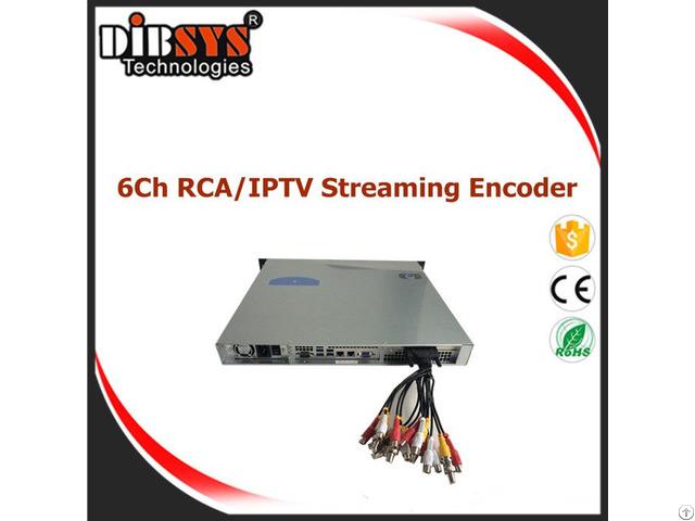 High Density Cvbs Iptv Encoder