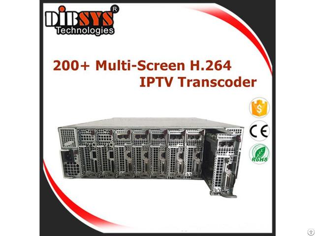 Multiscreen Iptv Transcoder