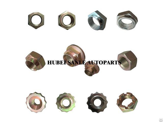 Hardware Fasteners Steel Hex Head Wheel Nut With Oem Service