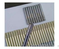 Long Life 8mm Flat End Sintered Diamond Granite Hard Stone Cutting Bit Cnc Milling Tools