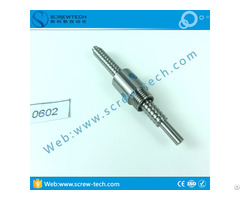 Precision Ground Ball Screw 0602 With 6mm Diameter