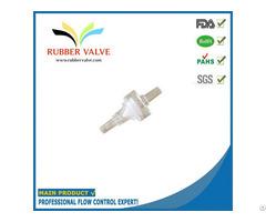 Medical Low Pressure Sanitary Plastic Hose Check Valve