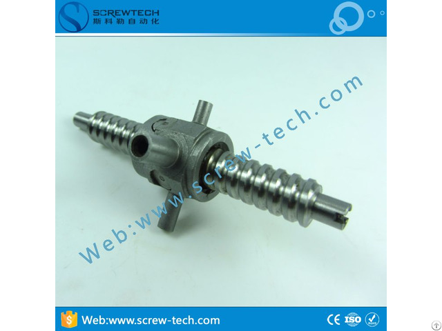Customized Miniature Ball Screw Gq0903 With 9mm Diameter