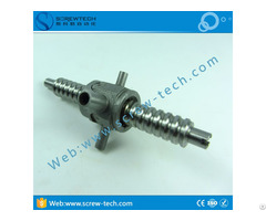 Customized Miniature Ball Screw Gq0903 With 9mm Diameter