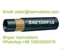 Sae 100r1a Din En853 1st Wire Braided Hydraulic Hose
