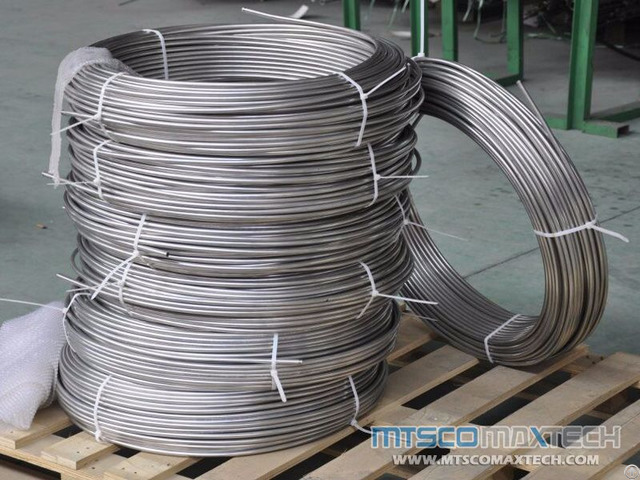 Astm A213 Tp304 1 8 Inch Bright Annealed Instrument Coiled Tubing