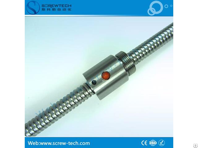 Quiet Motion Ground 10mm Miniature Ball Screw 1002