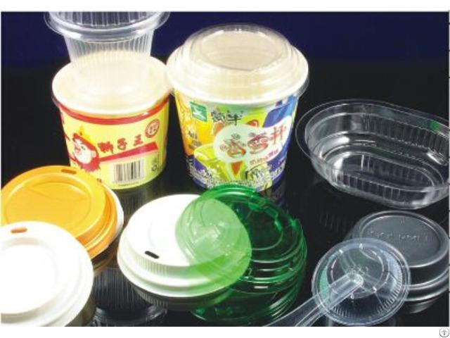 Automatic Plastic Cup Cap Making Machine