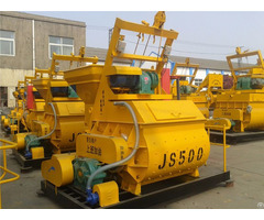 Minrui Js500 Twin Shaft Concrete Mixer