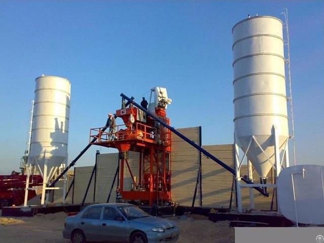 Minrui Group Hzs25 Concrete Batching Plant