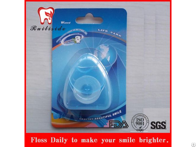 50m Ptfe Triangle Shape Dental Floss