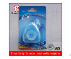 50m Ptfe Triangle Shape Dental Floss