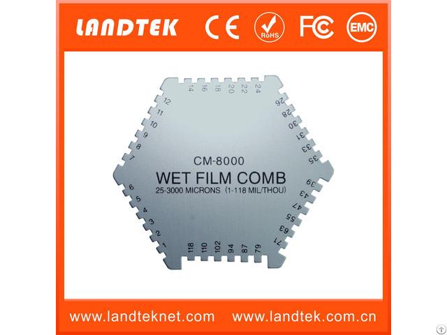 Wet Film Comb Cm 8000