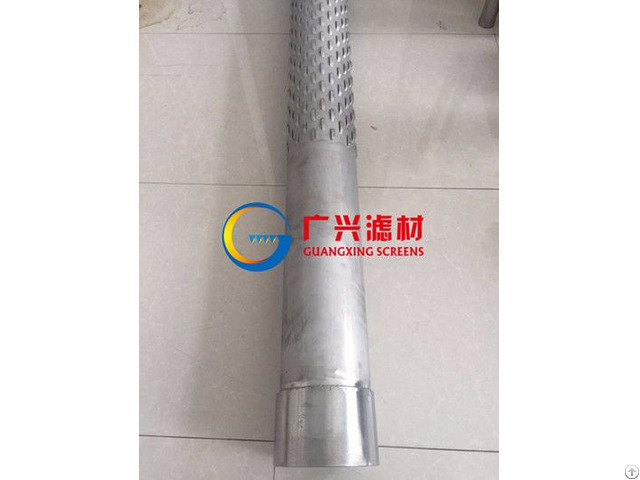 Straight Slit Bridge Slot Screen Tube