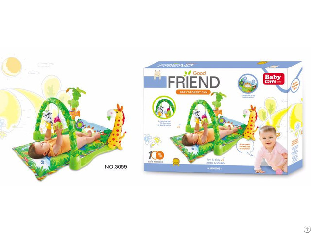Rainforest Musical Lullaby Baby Gym 3059