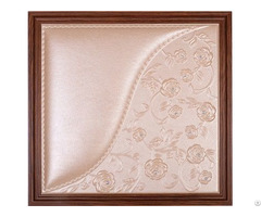 Decoration Materials 3d Leather Panel