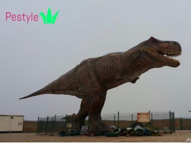 Lifelike Animatronic Dinosaur
