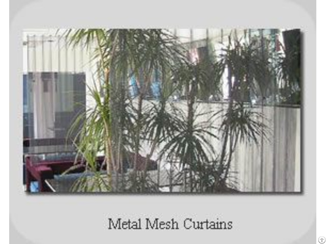 Metal Mesh Curtains