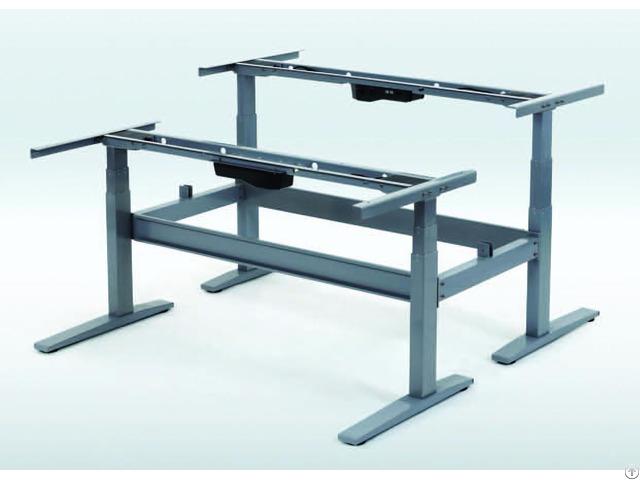 Height Adjustable Desk 3 Stages 4 Motors