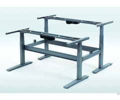 Height Adjustable Desk 3 Stages 4 Motors