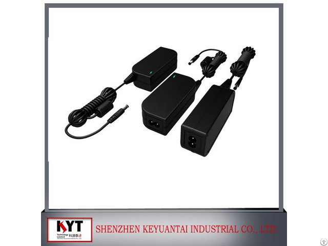 Kyt High Quality 12v 5a Cctv Camera Adapter With Ce Fcc Rohs Kc Approved