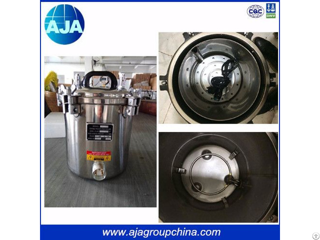 12l Electric And Gas Heating Type Autoclave