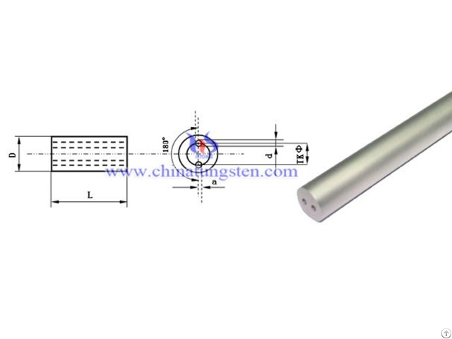 Tungsten Carbide Double Holes Rod