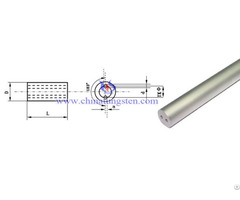 Tungsten Carbide Double Holes Rod