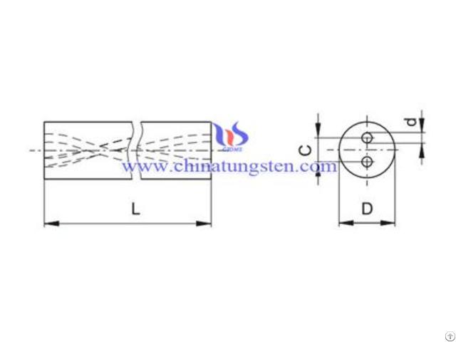 Tungsten Carbide Helix Rod