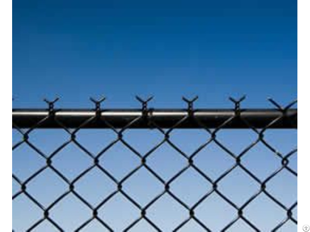 Black Vinyl Coated Steel Pool Safety Fence