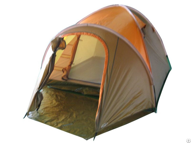 Taupe Outdoor Camping Traveling Tent