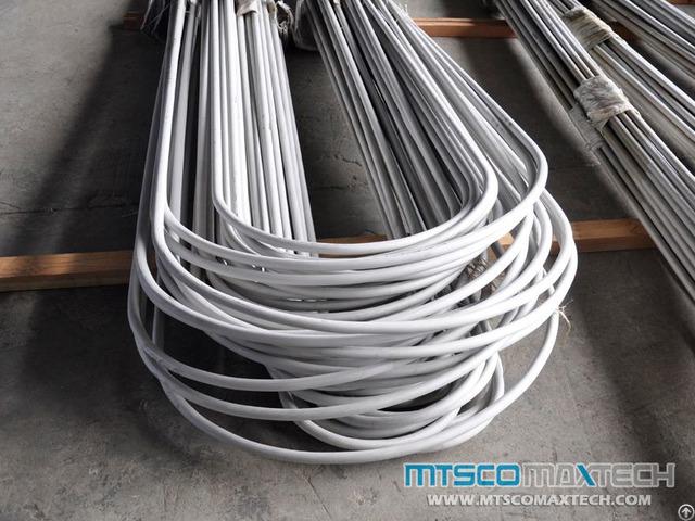 Stainless Steel U Bend Tube En10216 5 Tc2 D4 1 24mm