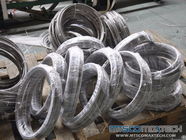 Seamless Stainless Steel Astm A213 A269 304 316 Small Size Tubing In Coil