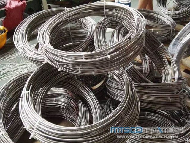 Stainless Steel Heat Exchanger And Boiler Seamless Coiled Tubes