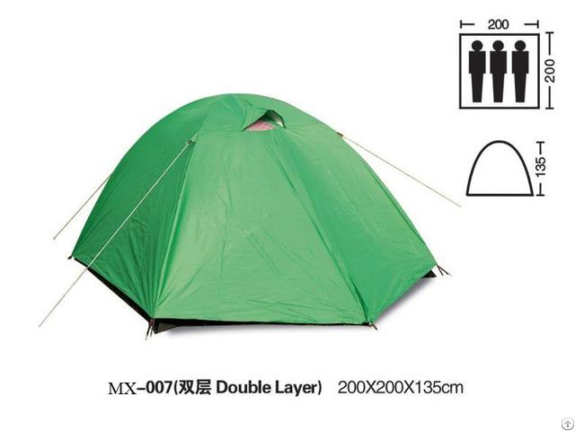 Green Waterproof Fabric Outdoor Camping Tent