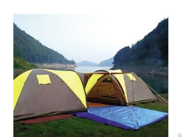 Family Camping Luxury Traveling Tent