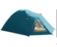 Blue Outdoor Hiking Or Camping Tent