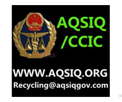 Aqsiq Certificate For Waste Textile